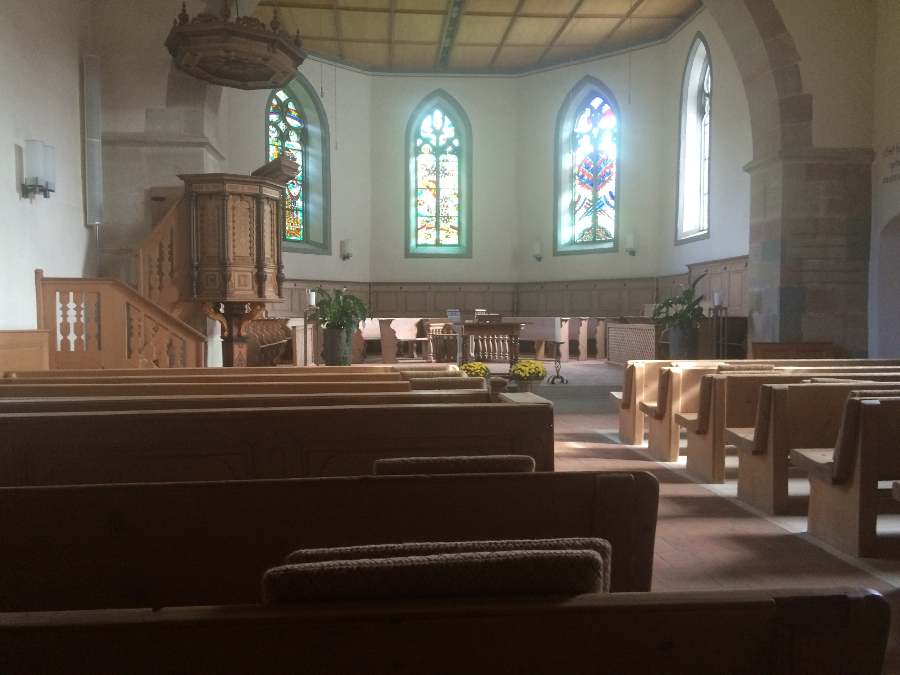Reformed State Church Sanctuary at Trub