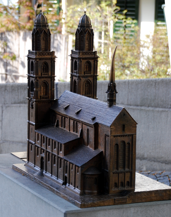 Model of Grossmünster
